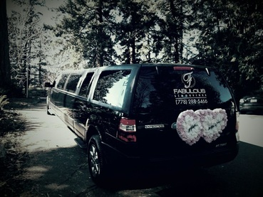Coquitlam limo wedding